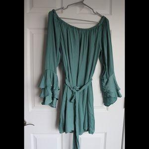 Blush Green dress